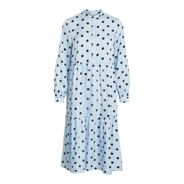 9aab92596 Vila blå kjole
